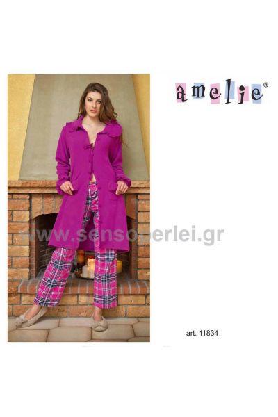 Fleece ρόμπα - 11834