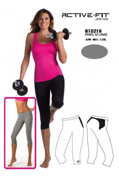 Active-Fit 3/4 capri αθλητικό κολάν - 610215GR
