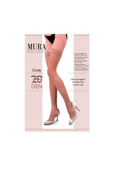 Κάλτσες-καλτσοδέτα 20DEN, Μαύρο- 229