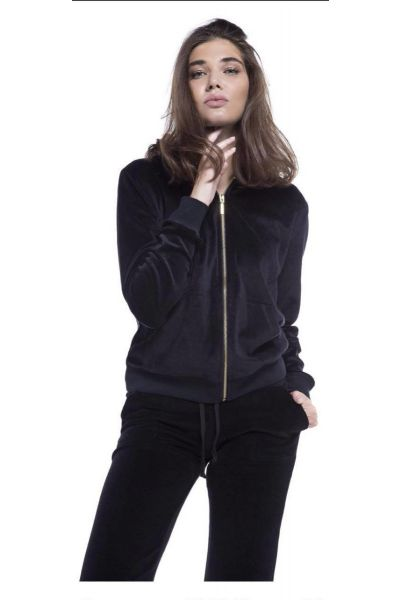 Βελουτέ παντελόνι - 609104 BLACK