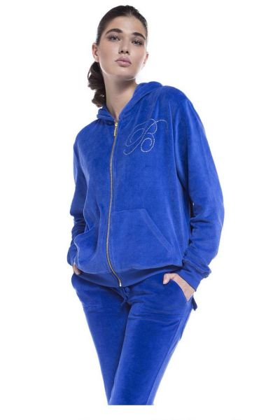 Βελουτέ παντελόνι - 609104 BLUE