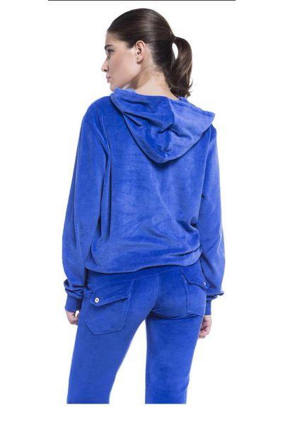 Βελουτέ παντελόνι - 609111 BLUE