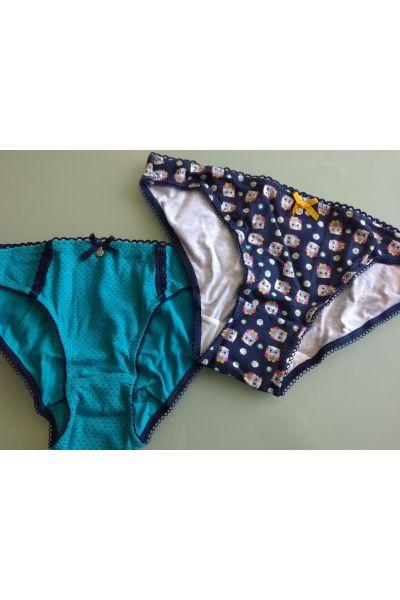 Set 2 mini bikini slip - L-947 MB