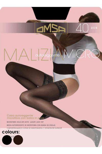 Κάλτσες-καλτσοδέτα 40DEN Μαύρο