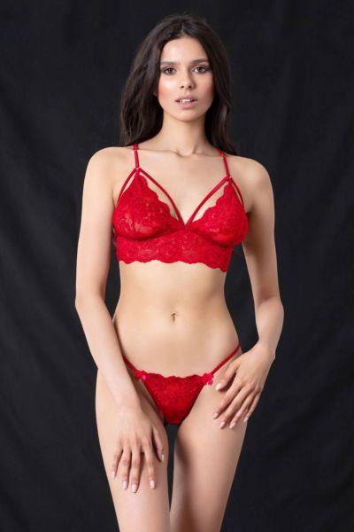 Bralette Κόκκινο
